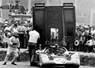 1971 Norisring, Gerbert Müllers 512 M s/n 1044 spun off together with Michel Weber´s  Porsche 917